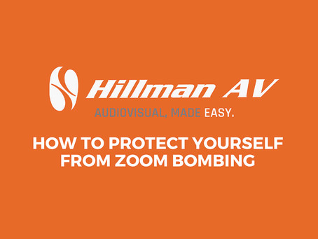 Infographic:  How to Protect Yourself from Zoom Bombing