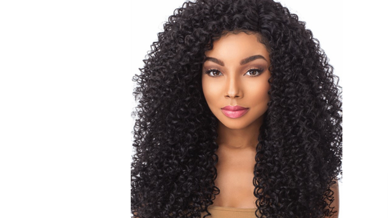 "Sensationnel Boutique Bundles Kinky Curly 18, 20, 22"" Weave Human Hair Blend New"