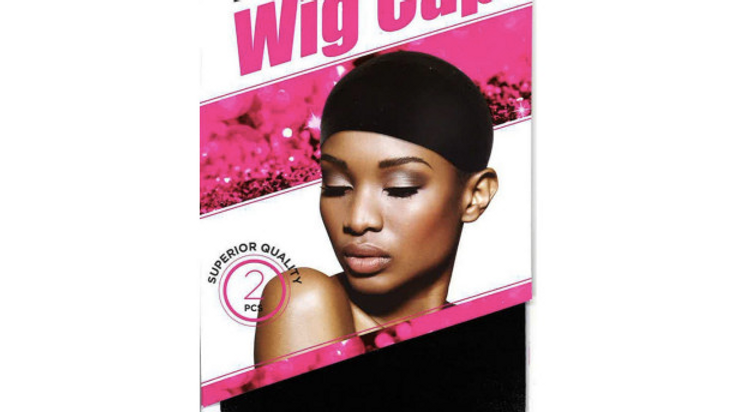 Dream Wig Cap Black 2count