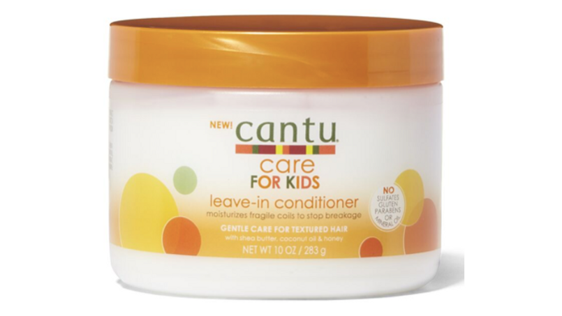 Cantu Care For Kids Leave-In Conditioner 10oz Jar