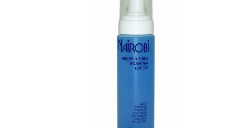 Nairobi Wrapp-it Foaming Lotion 8oz
