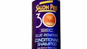 Salon Pro 30 Sec Glue Residue Remover Shampoo 12 oz
