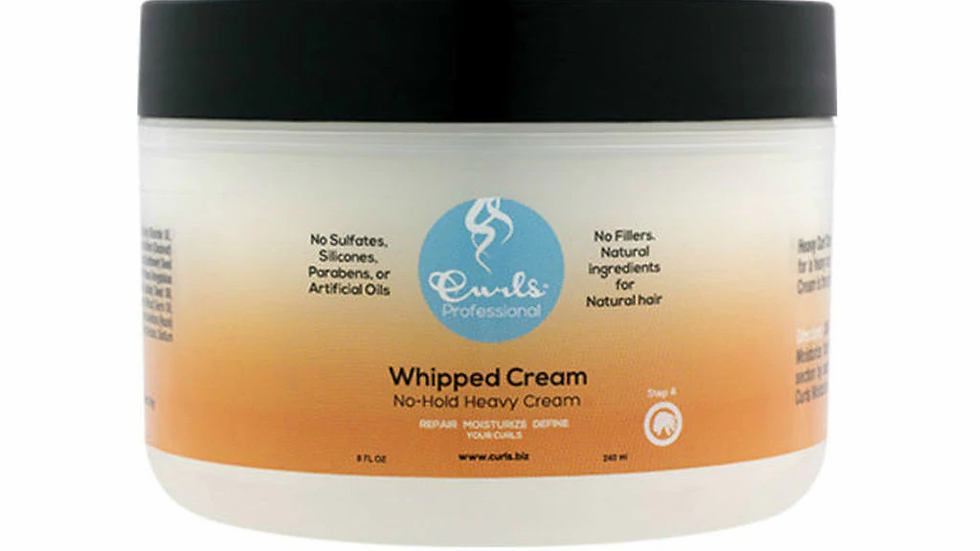 Curls Whipped Cream