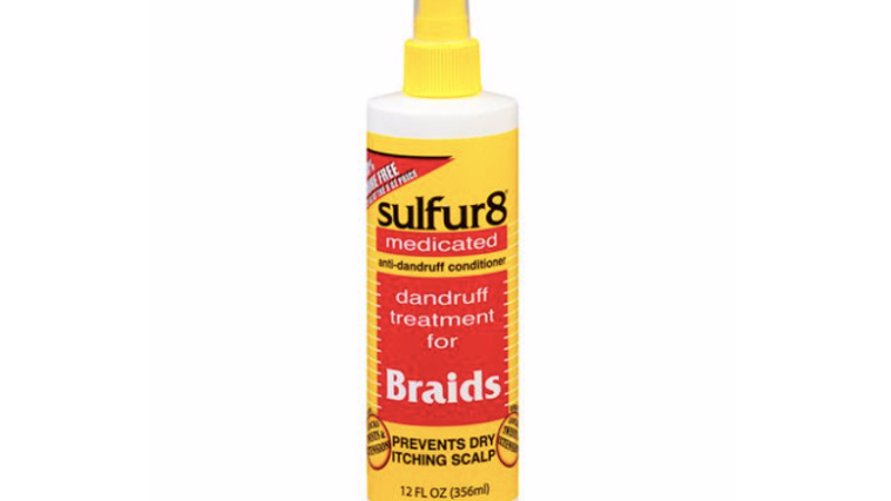 Sulfur8 Dandruff Conditioning Treatment for Braids, 12 Fl Oz