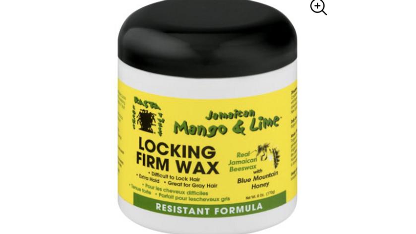 Jamaican Mango & Lime Locking Firm Wax 6oz