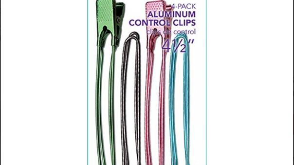 Diane 4pc Aluminum Control Clips
