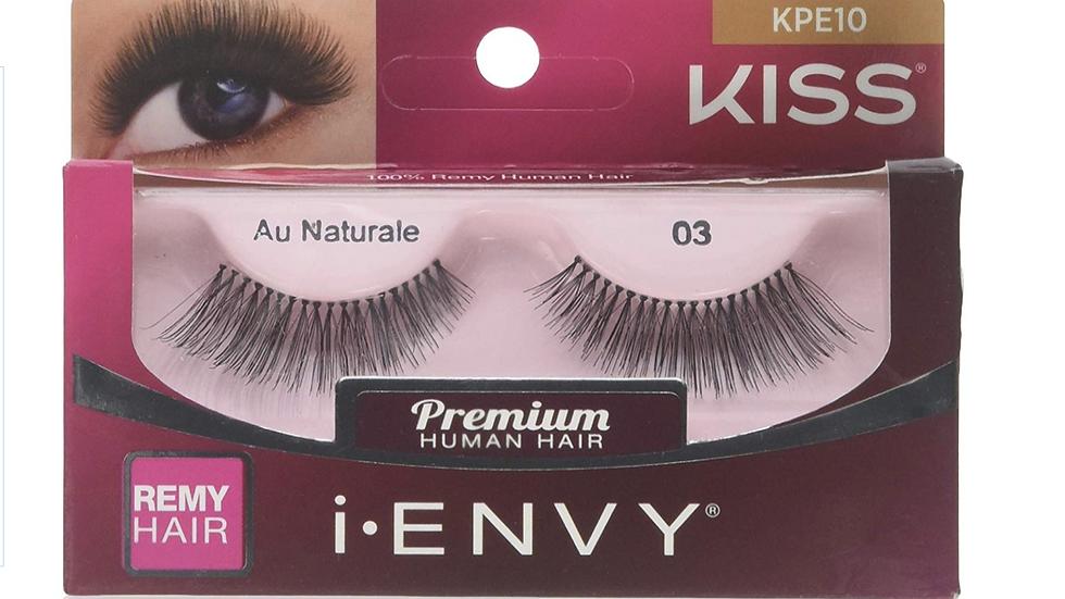 Kiss Fashion Eyelashes Color : KPE10-Au Natural 03