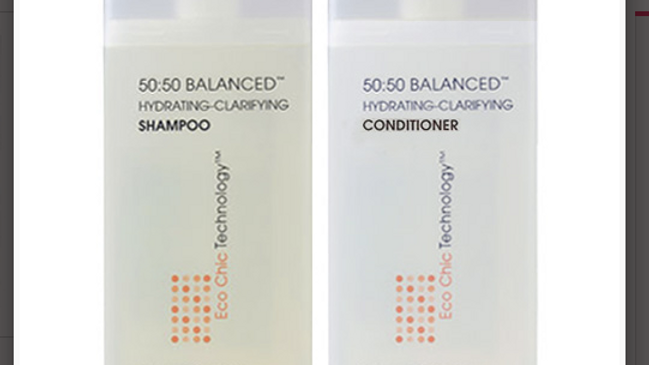 Giovanni 50:50 Balanced Hydrating-Calming Shampoo,Conditioner 2oz ColoR