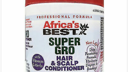 Africa's Best Super Gro Hair and Scalp Conditioner 6.25oz