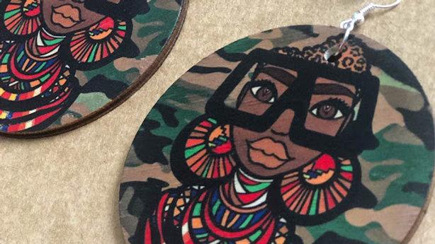 Maasai Coco Jumbo Earrings