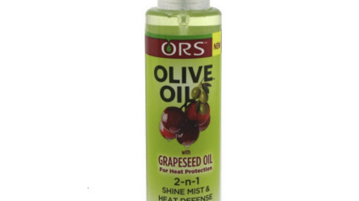 ORS Olive Oil with Grapeseed Oil 2-n-1 Shine/Heat 4.6oz