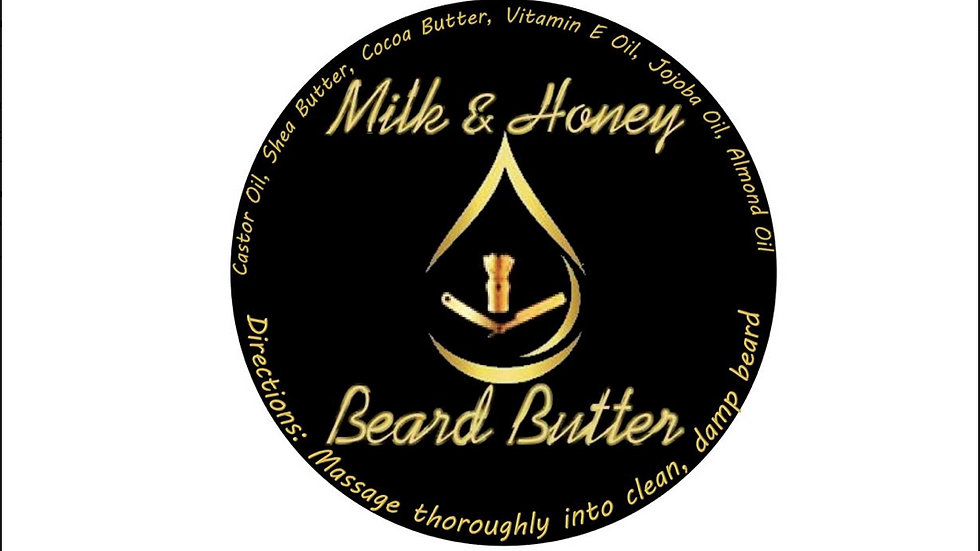 Milk and Honey Beard Butter 1oz