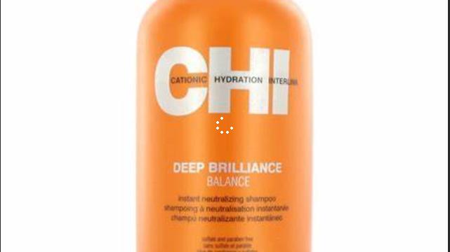 CHI Deep Brilliance Balance Instant Neutralizing Shampoo 12oz