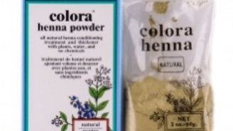 Colora Henna Powder Natural Organic Hair Color Natural 2 oz