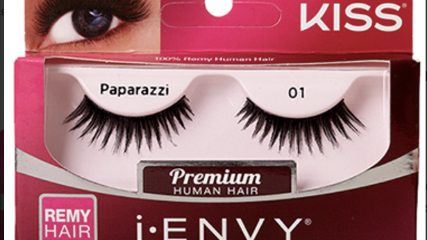 Kiss Fashion Eyelashes Color : KPE17-Paparazzi 01