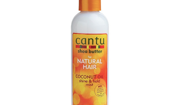 Cantu Natural Hair Coconut Oil Shine And Hold Mist 8.4oz Spry
