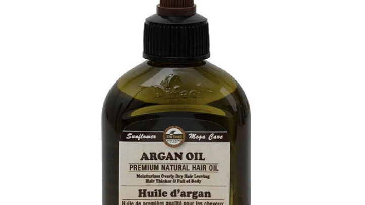 Mega Care Premium Natural Hair Oil 2.5oz - Argan Oil