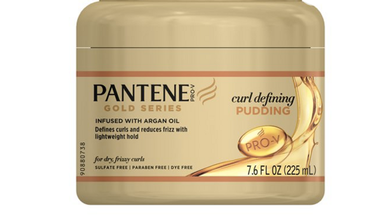 Pantene Gold Series Pudding Curl Defining 7.6oz Jar
