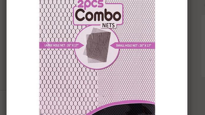 Deluxe Invisible Weaving Nets 2Pcs Combo