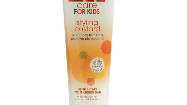Styling custard holds perfect poofs & ponytails. Cantu Care for Kids is 8oz Tube