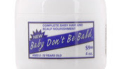 Baby Dont Be Bald Baby Hair & Scalp Nourishment 4oz