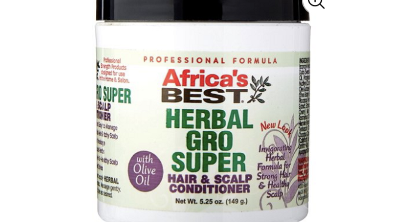 Africas Best Gro Herbal Super 5.25oz Jar