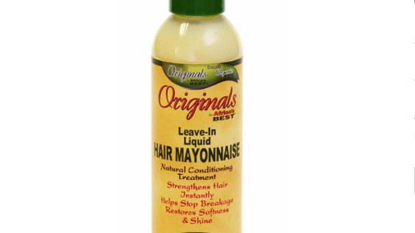 Africas Best Orig Hair Mayo Leave-In 6oz