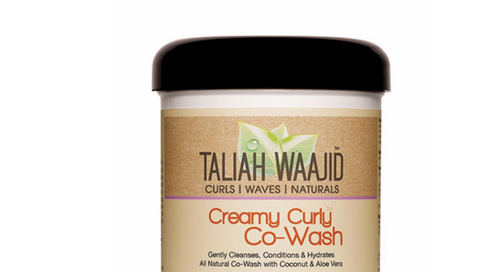 Taliah Waajid Creamy Curly Co-Wash 16 oz
