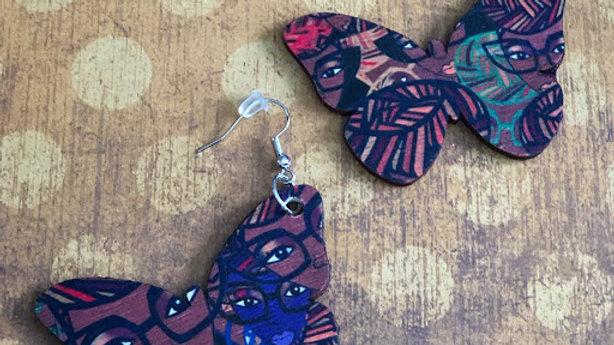 Genius Candy Coco Butterfly Earrings