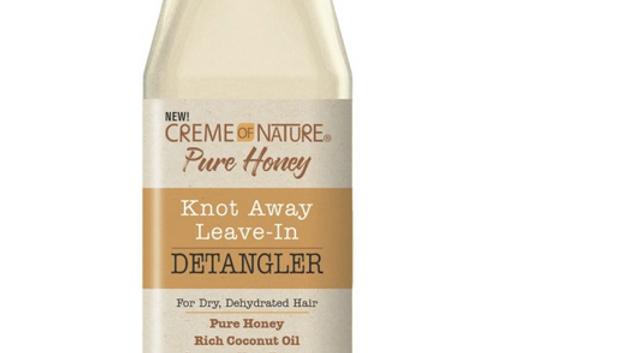 Creme of Nature Pure Honey Knot Away LeaveIn Detangler, 8 oz