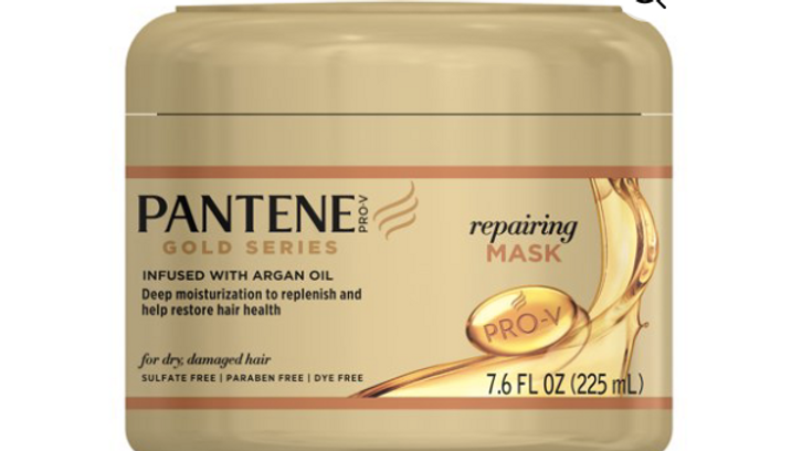 Pantene Gold Series Mask Repairing 7.6oz Jar