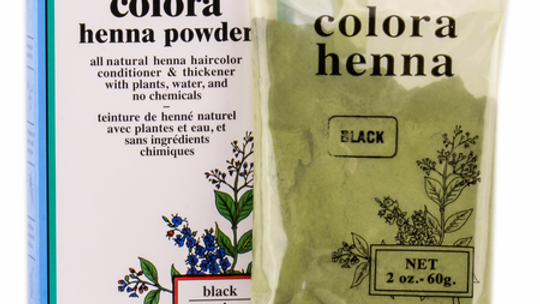 Colora Henna Powder Natural Organic Hair Color Black 2 oz