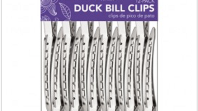 "3.5"" Duck Bill Clips 12pc"
