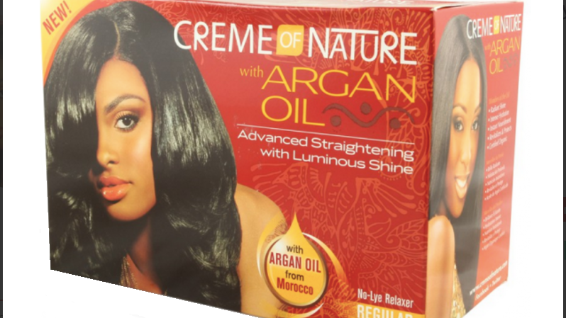 Creme Of Nature with Argan Oil No-Lye Relaxer
