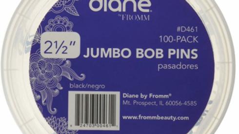 "Diane Jumbo Bob Pins 2.5"" 100pc"