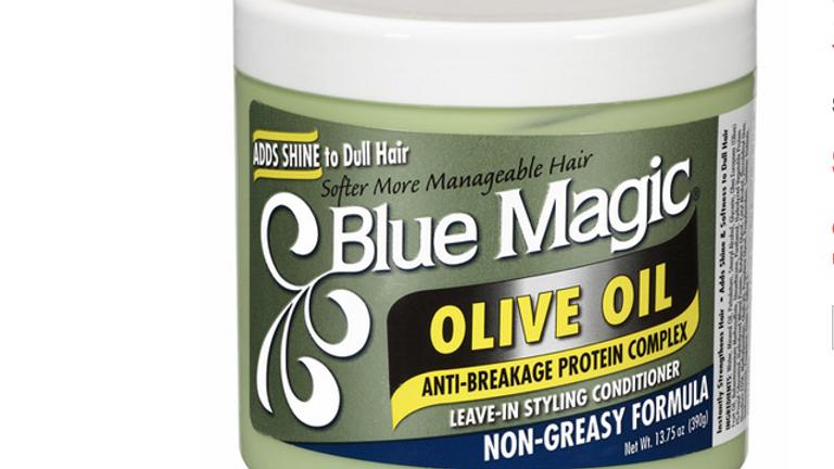Blue Magic Olive Oil 13.75oz Jar