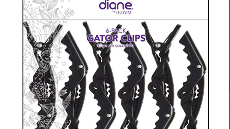Diane 6 pc Gator Clips