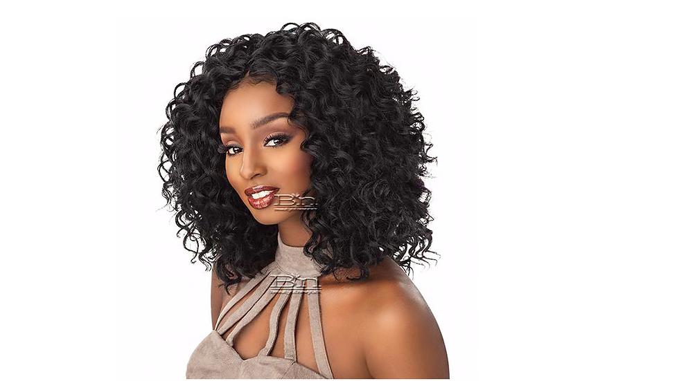 """Sensationnel Synthetic Hair Crochet Braids Lulutress Deep Wave 18"""""""