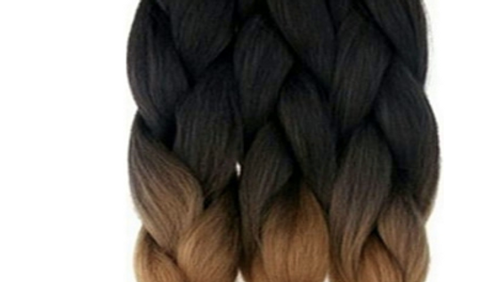 """Pre-Stretched 3 Bundles Spetra Braid 20"""" (Folded) - Total 40"""" Long"""