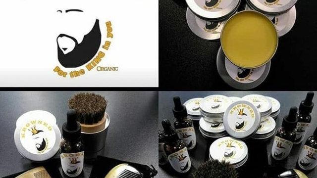 Sandlewood Beard Comb and Brush