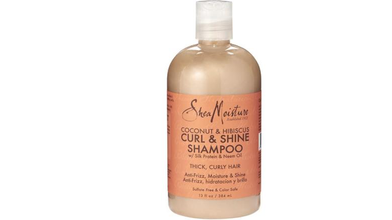 Shea Moisture Coconut & Hibiscus Curl & Shine Shampoo 13oz