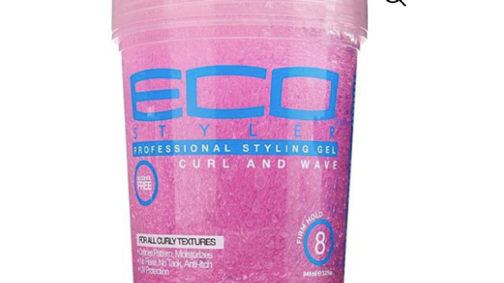 ECO Styler Pink Curl & Wave Styling Gel 8oz