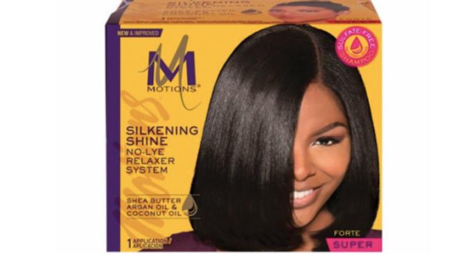 Motions Salon Haircare Silkening Shine Relaxer System (Regular)