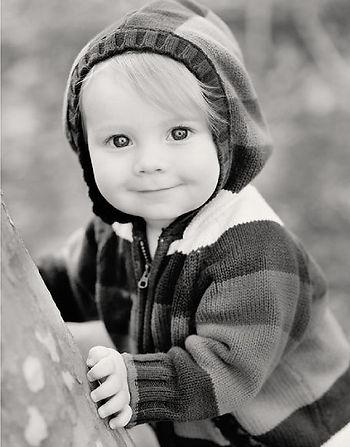 Photo of toddler boy.