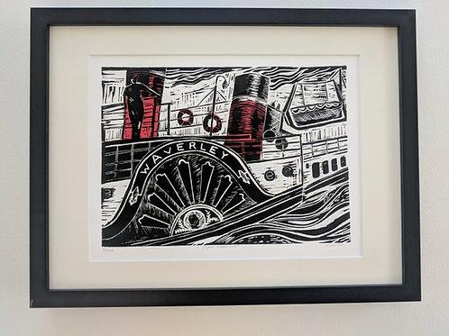 Clyde Steaming- Giclée Print