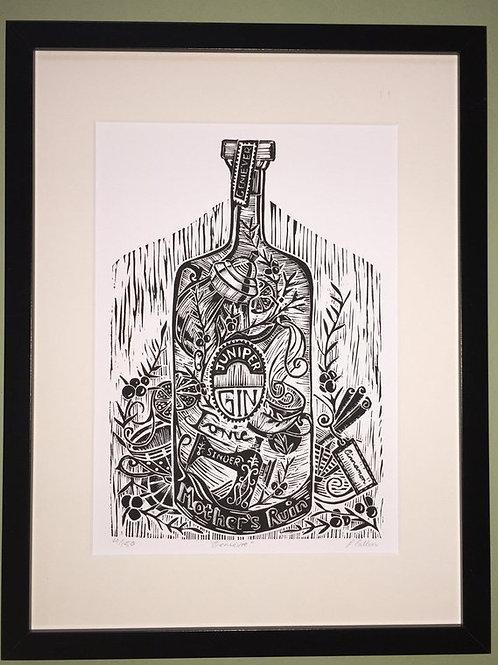 """Geniever Mothers Ruin""-Giclée Print"
