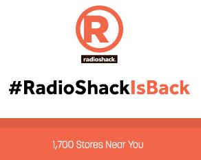 #RadioShackIsBack
