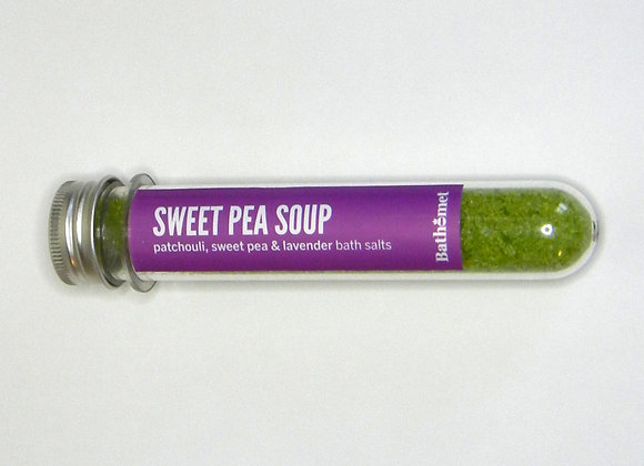 Sweet Pea Soup Bath Salts