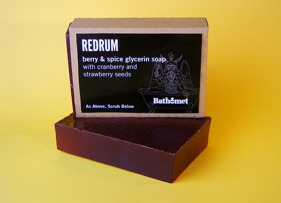 Redrum Bar Soap