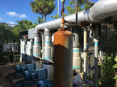 Alpine Refrigeration at work in Florida HVAC-R